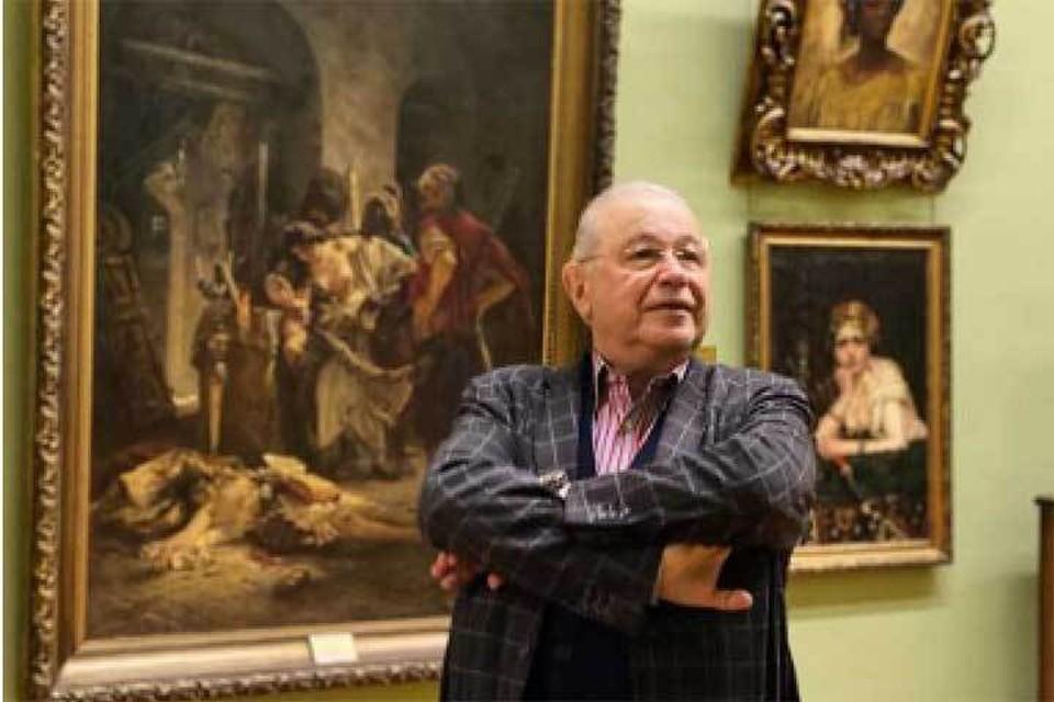 Евгений Ваганович шутливо называет свою коллекцию «Моя Третьяковка».