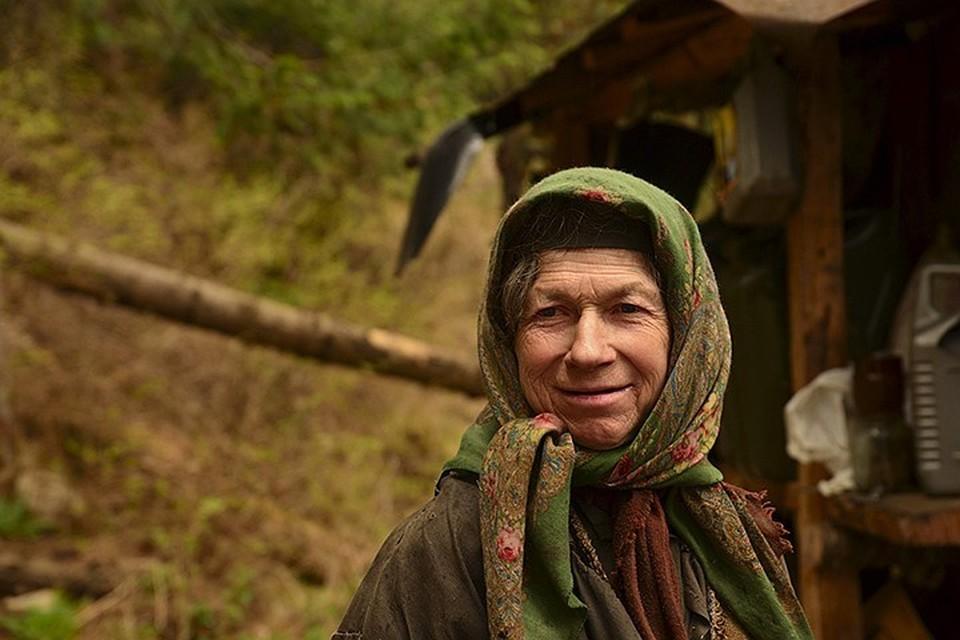 Агафья Лыкова. Фото: Даниил БАРАШКОВ