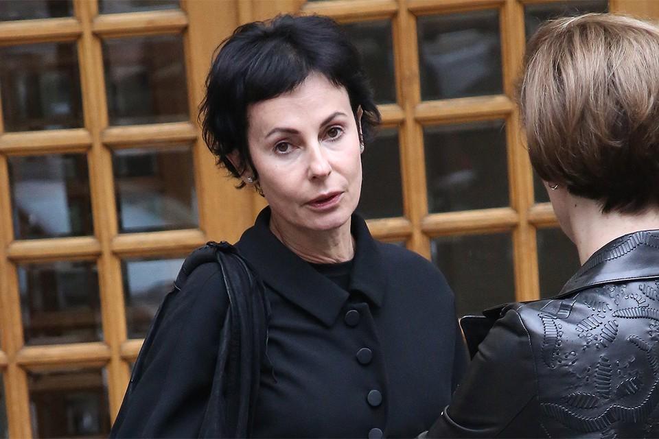 Актриса Ирина Апексимова.