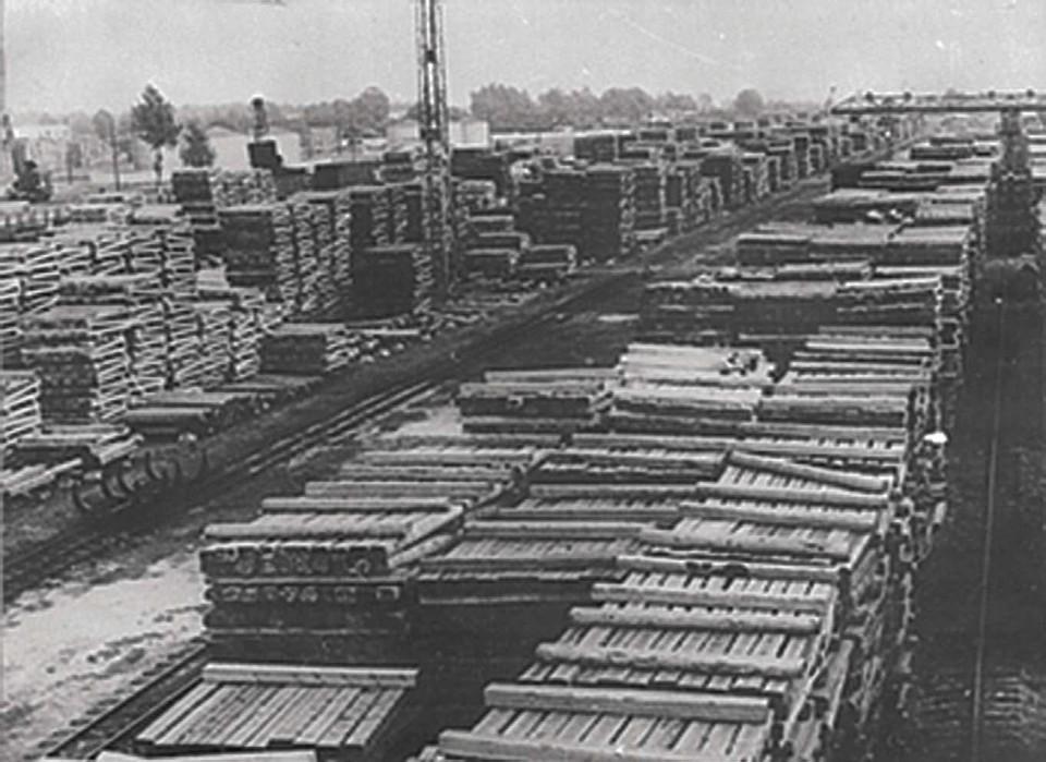 Фото из архива Рязанского шпалопропиточного завода.