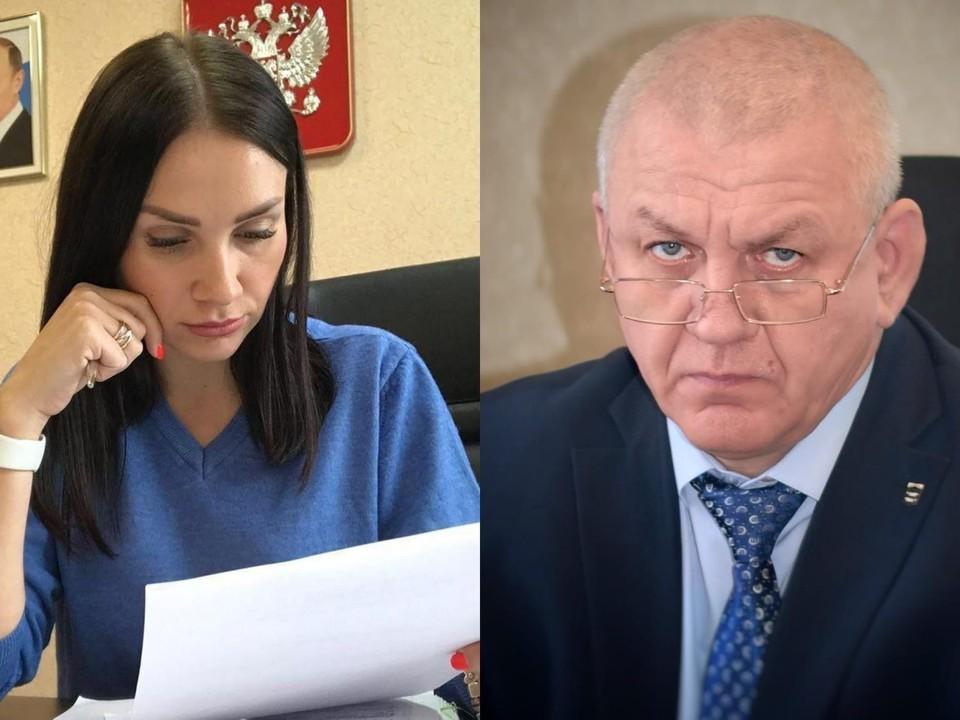 Власенко попросил передать его извинения жителям района, а Андреева закрыла свою страничку. Фото из соцсетей.