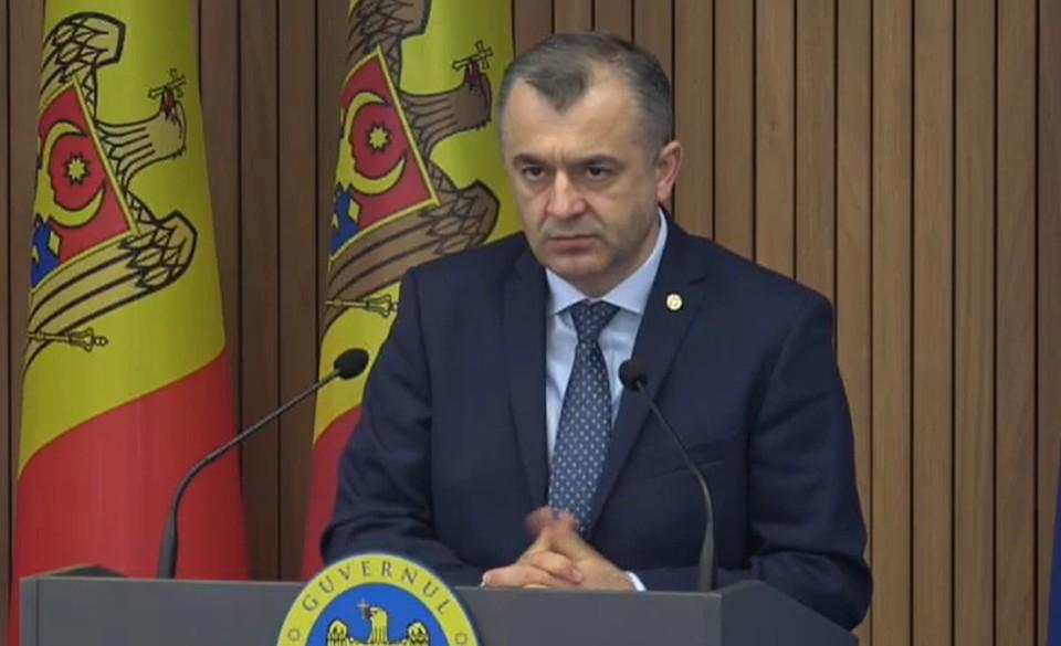 Премьер-министр Молдовы: у нас очень плохие новости
