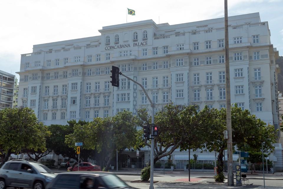 """""""Копакабана Пэлэс"""" является наиболее известным отелем Рио и одним из символов города"""