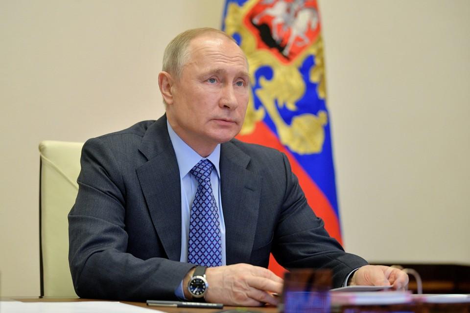 Президент России Владимир Путин 15 апреля проведёт совещание с членами российского правительства в режиме видеоконференции. Фото: Алексей Дружинин/ТАСС