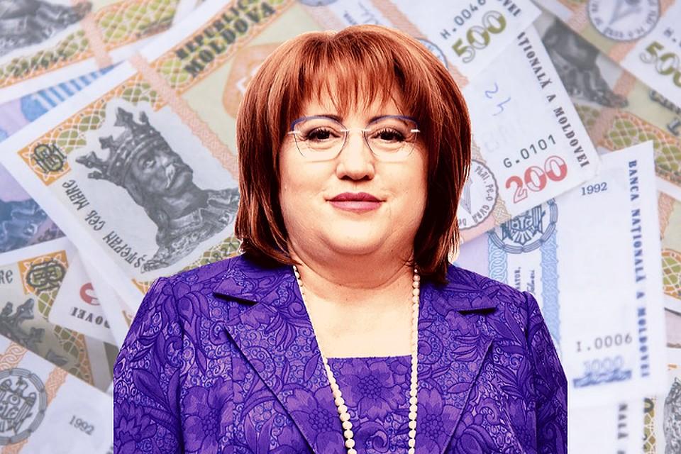 Судья КС Домника Маноле, от которой зависит останутся ли без пенсии старики Молдовы, получает 49 тысяч леев - это ее пенсия и зарплата