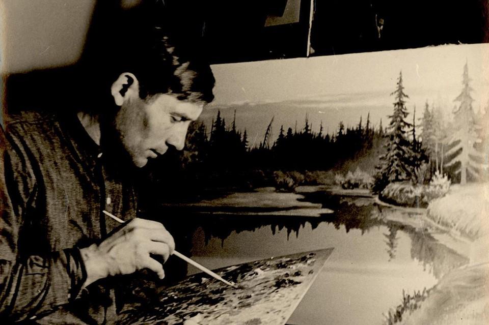 Василий Молчанов увлекался живописью.