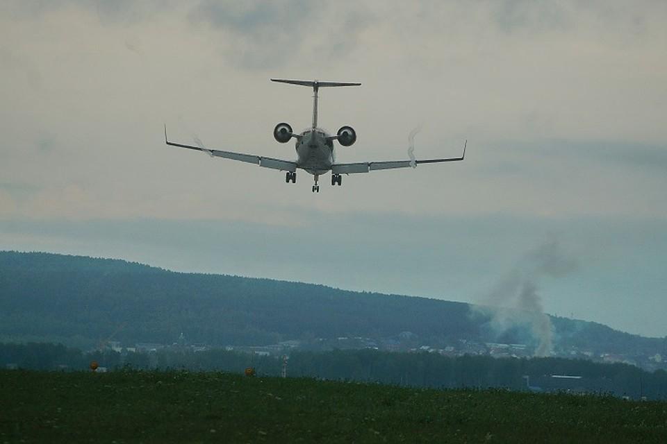 В Екатеринбурге садится самолет из-за угрозы взрыва на борту
