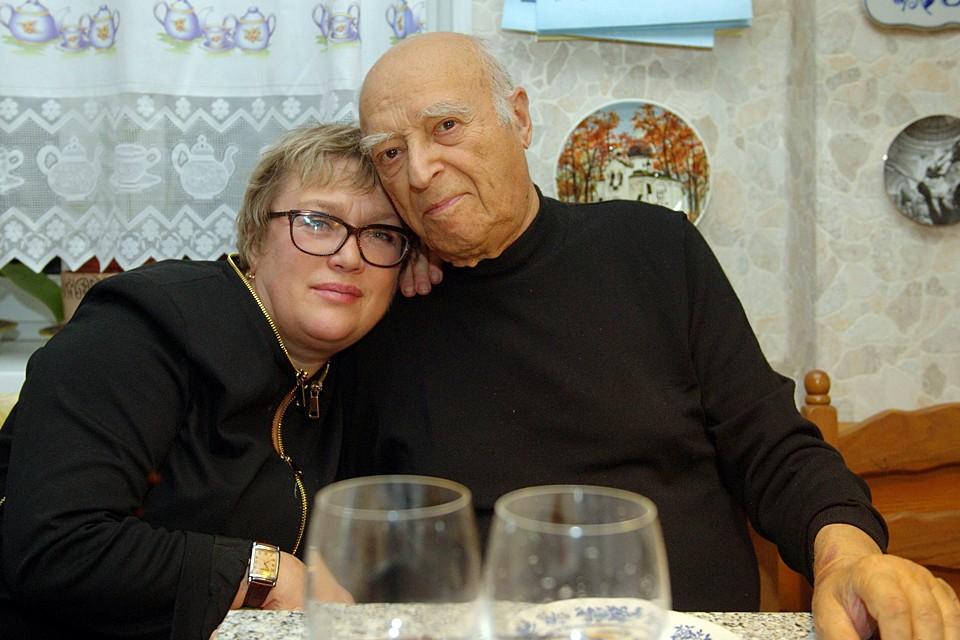 Этуш с автором книги Ольгой Белан
