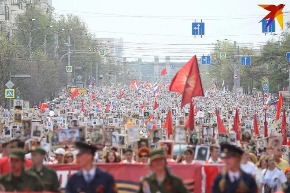 Шествие Бессмертного полка, торжественное построение Челябинского гарнизона, праздничный салют не отменены - перенесены из-за режима самоизоляции.