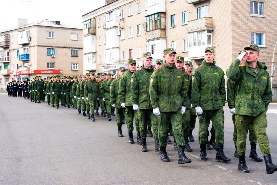 В марте в Ясиноватой проходил парад для одного ветерана. Фото: ВКонтакте