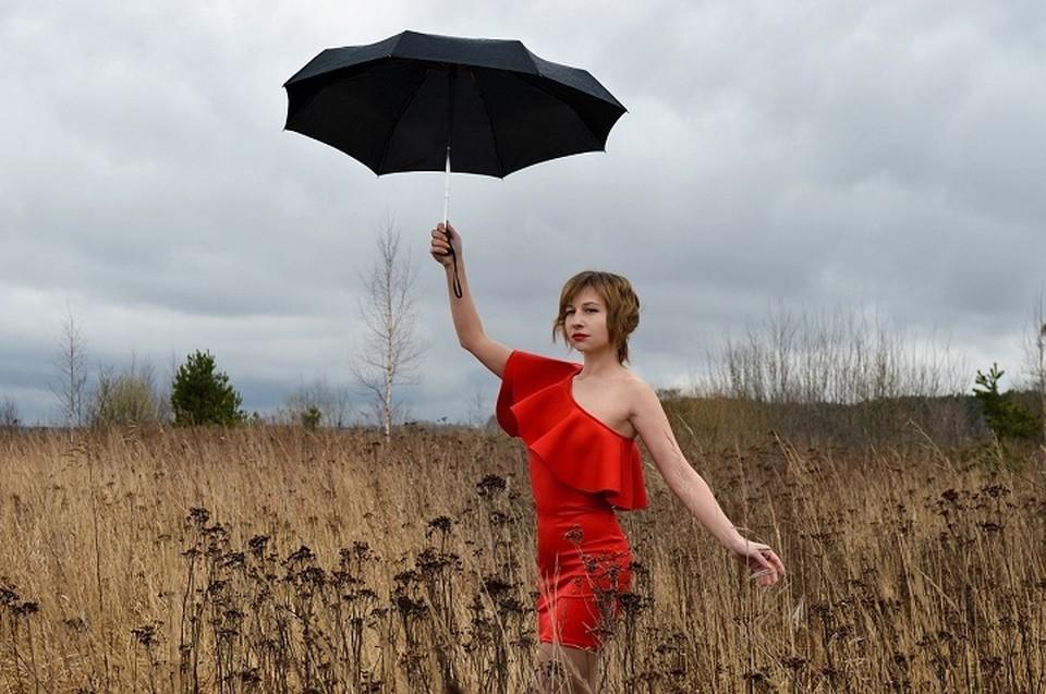 В округе местами будет дождливо