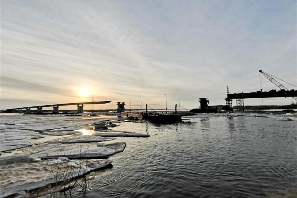 Берега реки Пур приблизятся еще на 105 метров Фото: puradm.ru