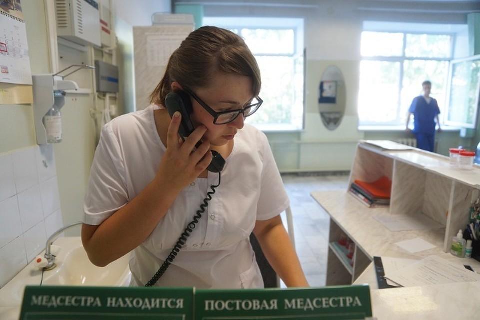 В инфекционных отделениях больниц сегодня больше половины свободных мест