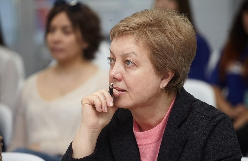 Вице-губернатор Псковской области Вера Емельянова.
