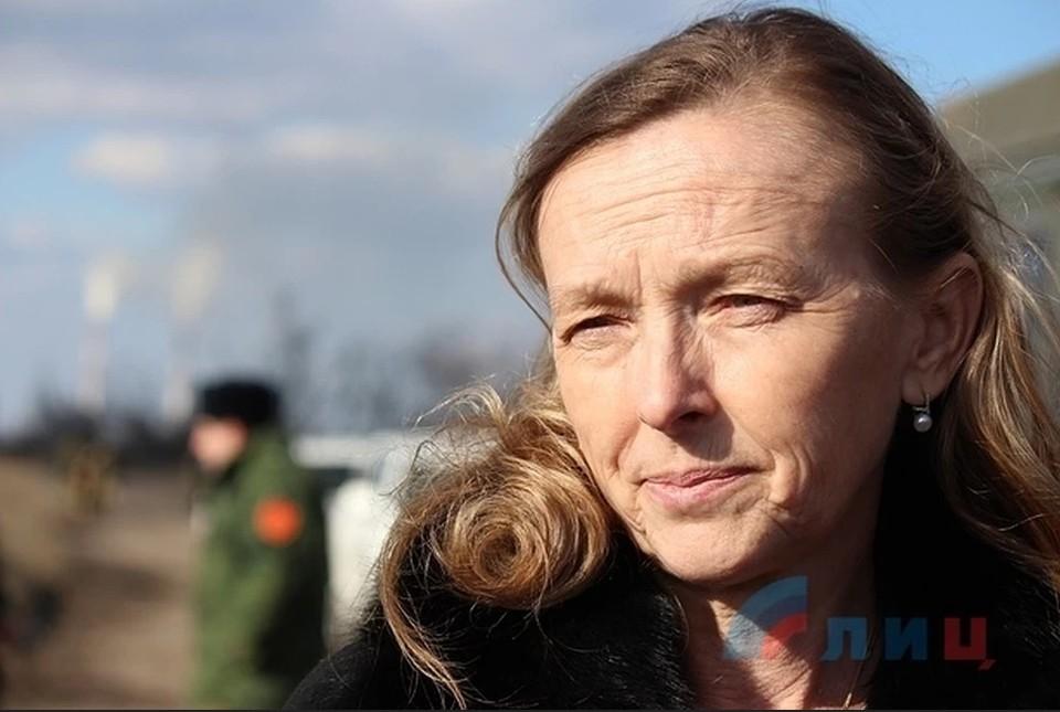 Кобцева: ЛНР организовала переход через закрытый из-за ситуации с коронавирусом КПП. Фото: ЛИЦ