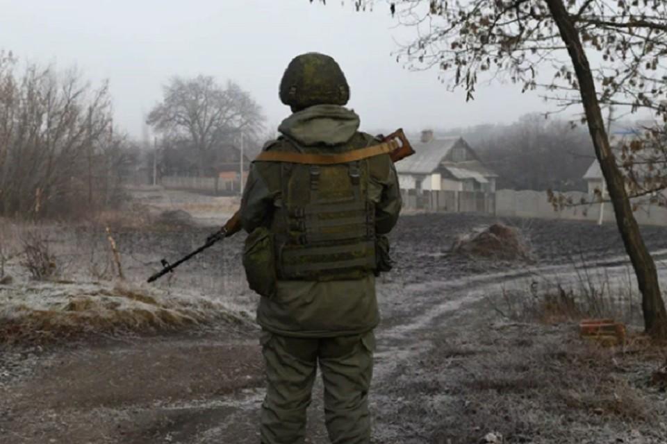 В результате украинского обстрела погиб военнослужащий ЛНР. Фото: mtdata.ru