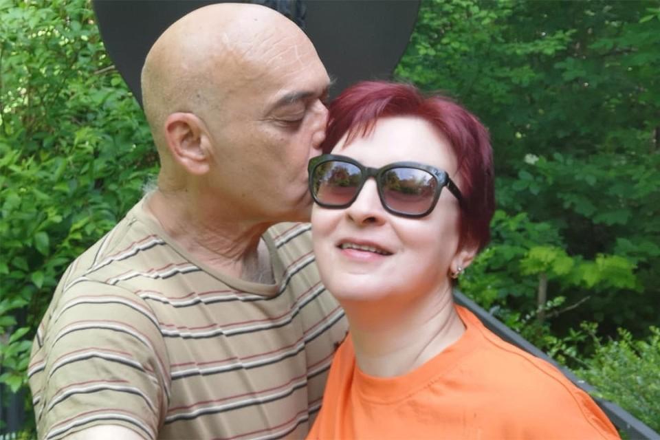 "Спецкор ""КП"" Дарья Асламова с супругом."