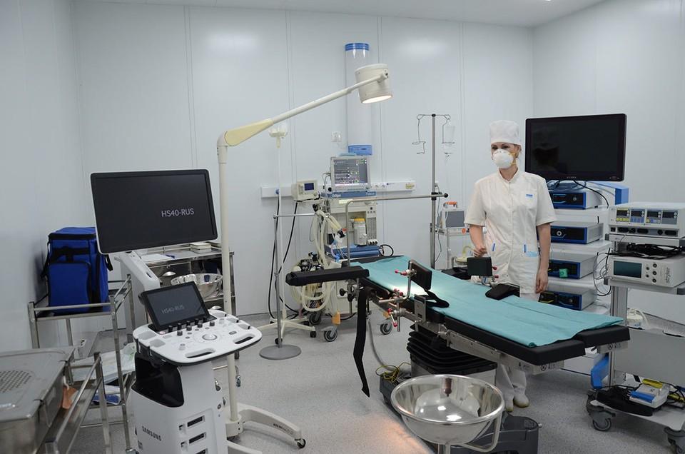 Многофункциональный военный медицинский центр Минобороны в Одинцове.
