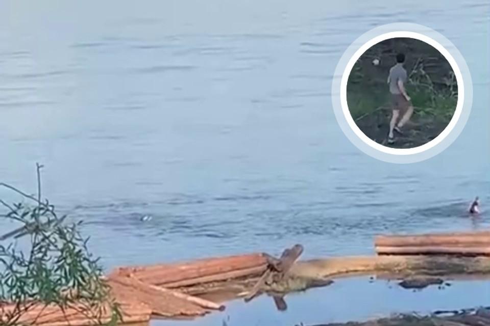 «Человечище, не прошел мимо»: в Лесосибирске ищут неизвестного героя, который спас тонущего ребенка. Фото: ЧП - Лесосибирск.