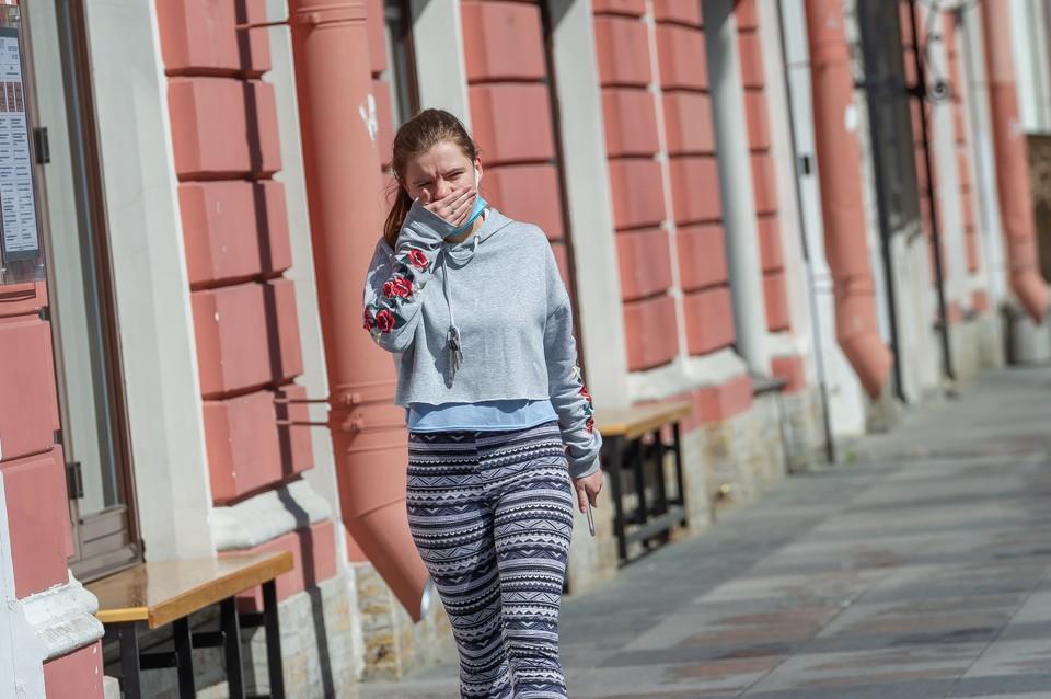 Новые случаи заражения коронавирусом в Санкт-Петербурге на 22 мая 2020 года