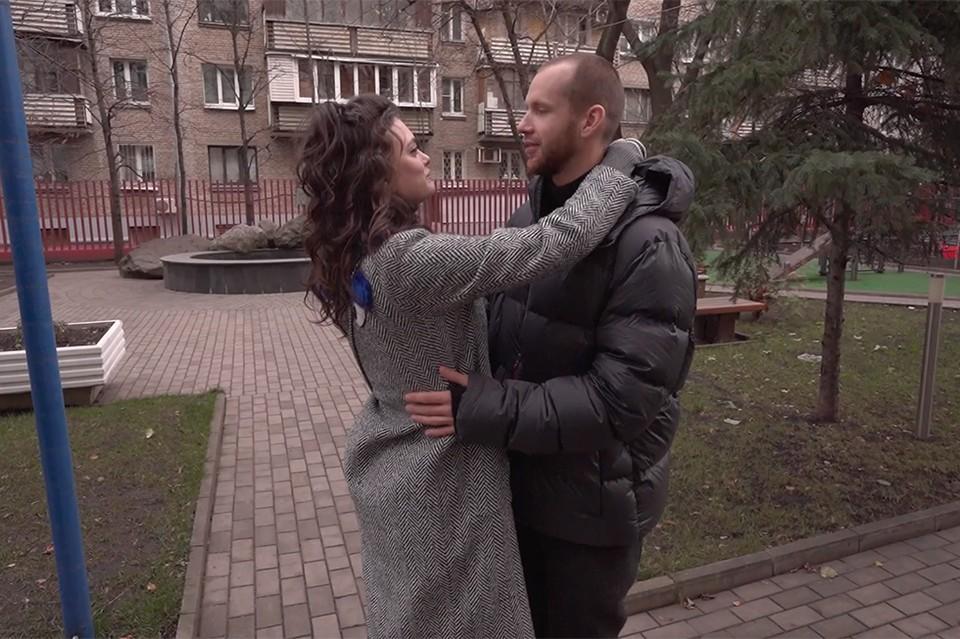 Лиза Адаменко и Антон Криворотов. Фото: стоп-кадр передачи Холостяк