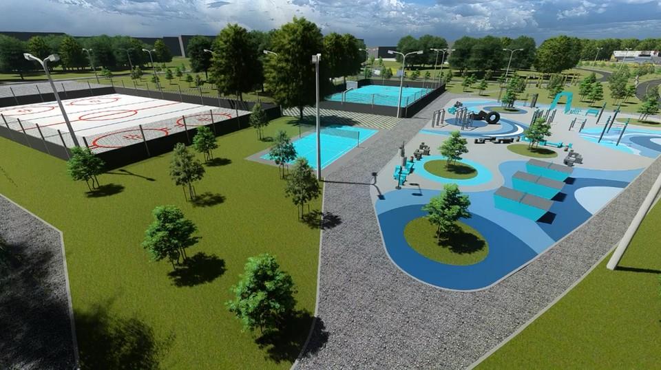 В Шебекино Белгородчины появится «Парк поколений». Фото пресс-службы администрации Шебекинского района
