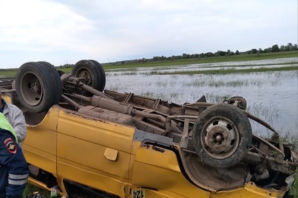 После аварии пять человек привезли в больницу в тяжелом состоянии