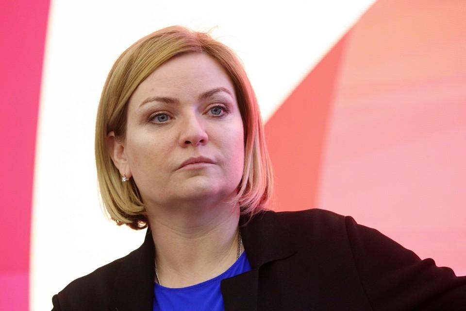 Ольга Любимова рассказала, как театры будут работать, когда в зрительный зал придет публика. Фото: Виталий Невар/ТАСС