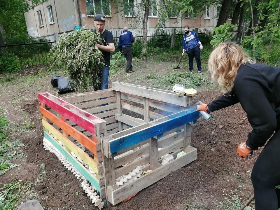 Теперь органические отходы в Самаре можно сдать в общественную компостную яму