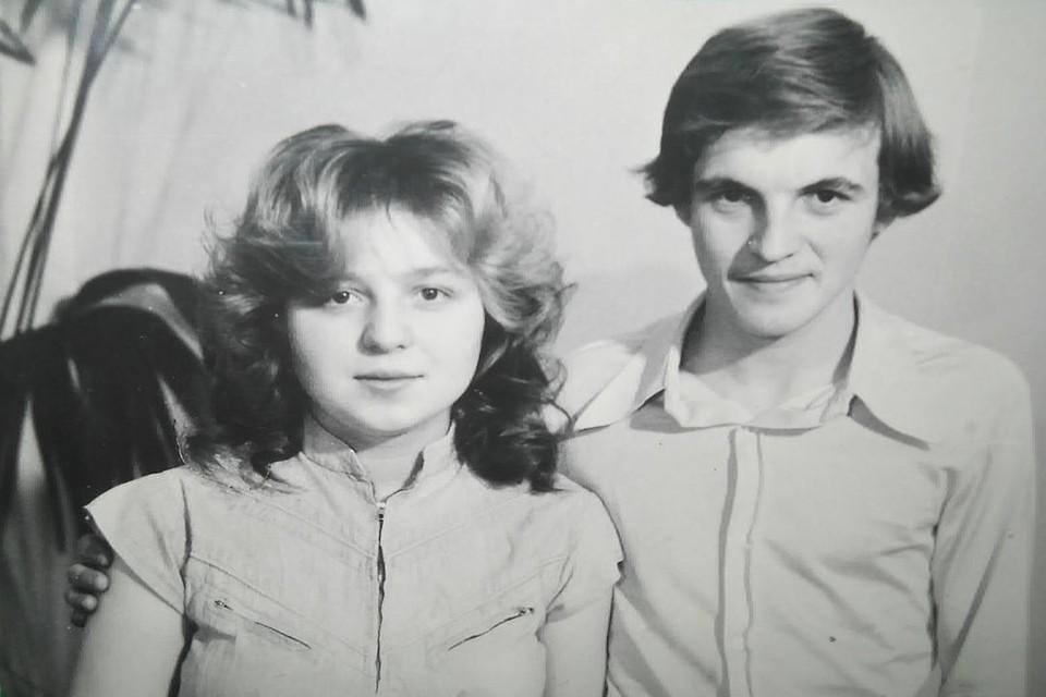 На фотографии Сергей вместе со своей женой Еленой. Фото: личный архив.