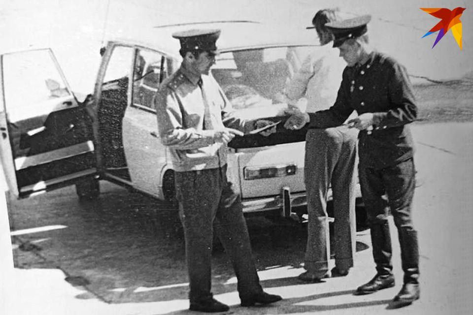 Иностранная машина с тайником и контрабандой, 1974 год. Фото: из архива А.П. Муриенко для «КП»