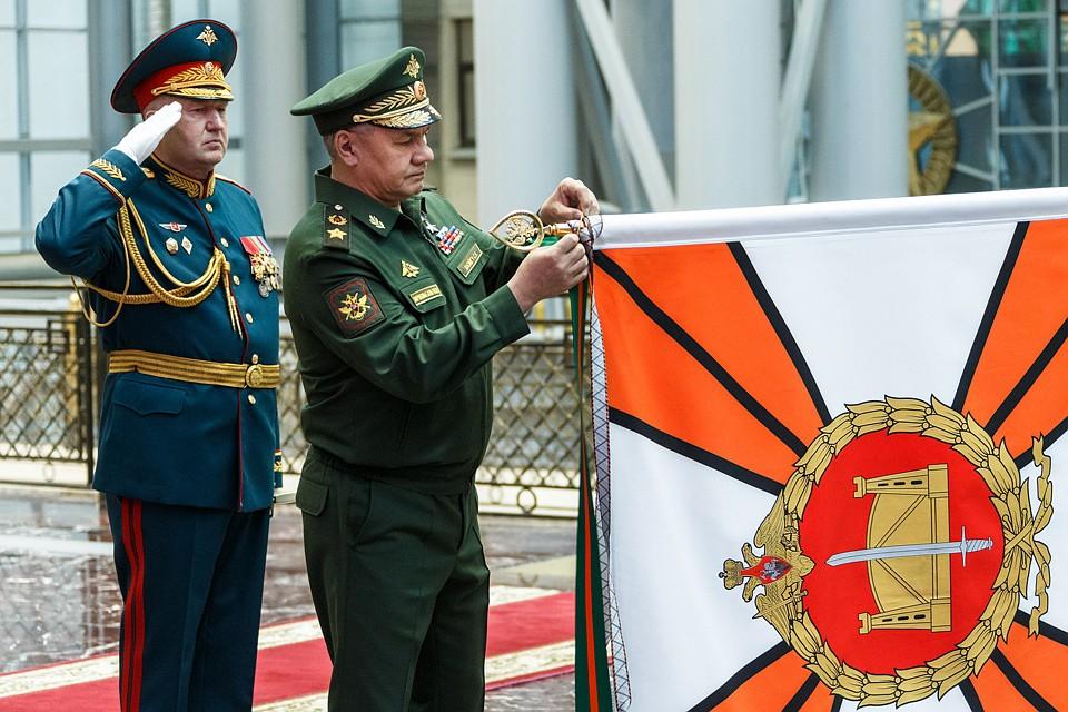 Сергей Шойгу вручил орден Суворова 58-й общевойсковой армии