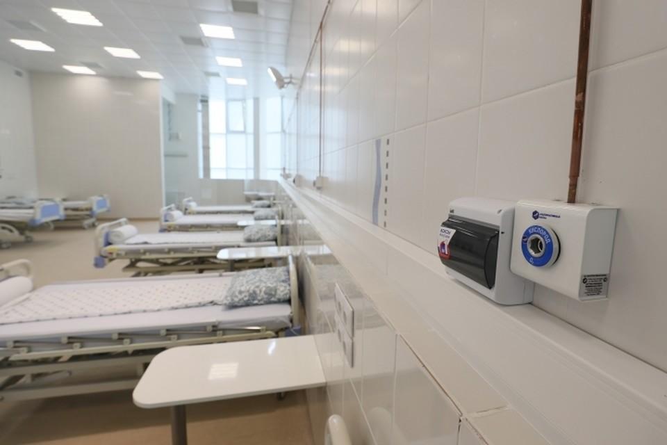 Поликлиника в Московском районе перепрофилируется под стационар для больных коронавирусом. Фото: Смольный
