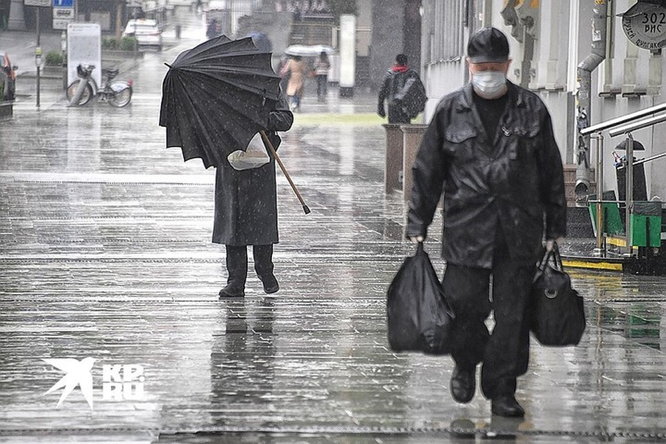 Самыми мокрыми местами Подмосковья в пятницу были Можайск, Волоколамск, Наро-Фоминск.