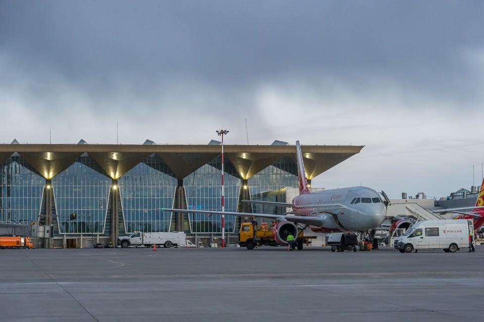 Из Петербурга отменили несколько самолетов.