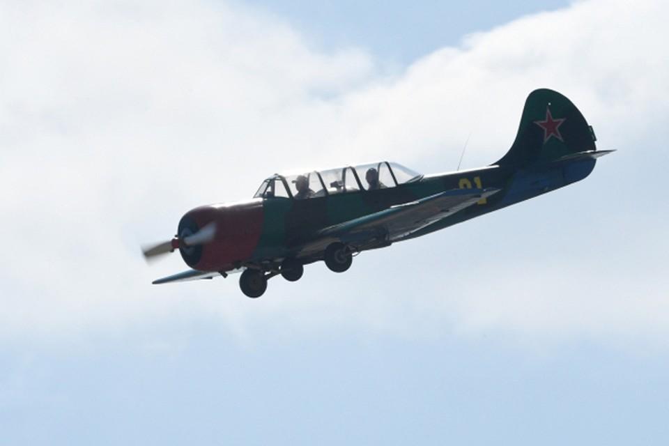 Самолет ЯК-52 упал под Нижним Новгородом