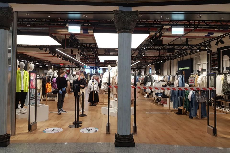 Бизнесменам разрешили возобновить работу магазинов с обувью, одеждой, косметикой, игрушками, бытовой техникой.