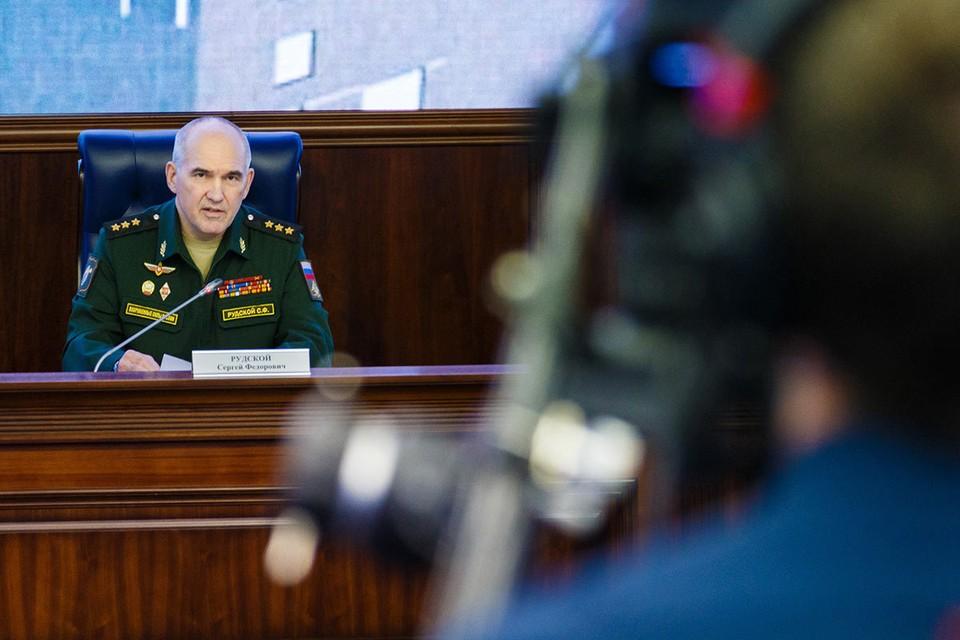 Начальник Главного оперативного управления Генштаба Вооруженных Сил России Сергей Рудской.
