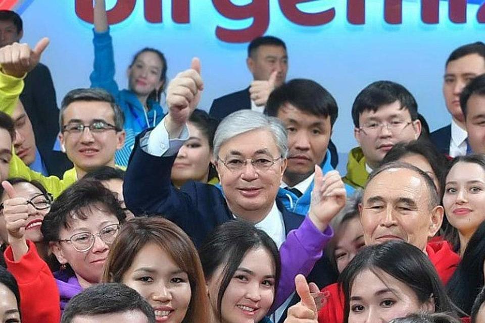 Президент Казахстана Касым-Жомарт Токаев: Казахстанцы, независимо от их этнического происхождения, считают себя единым народом, единой нацией. Фото: Пресс-служба Президента Казахстана