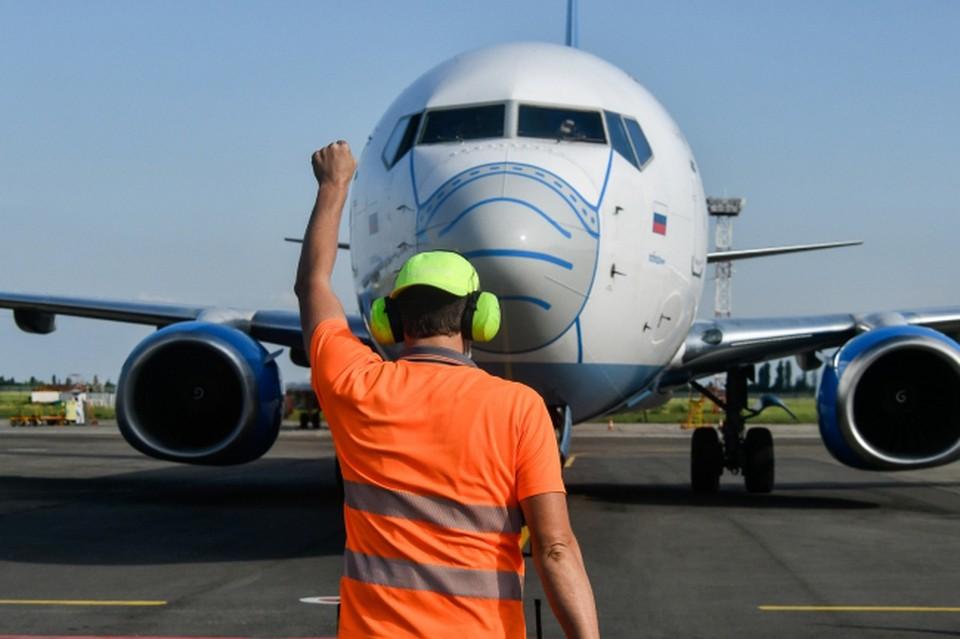 Самолет штатно сел в Мурманске.