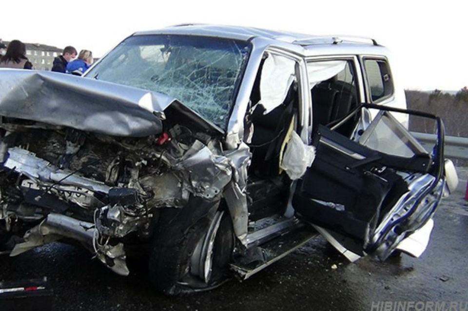 37-летняя женщина за рулем Mitsubishi Pajero уходила от ДПС на скорости 147 км/ч. Фото: hibinform.ru