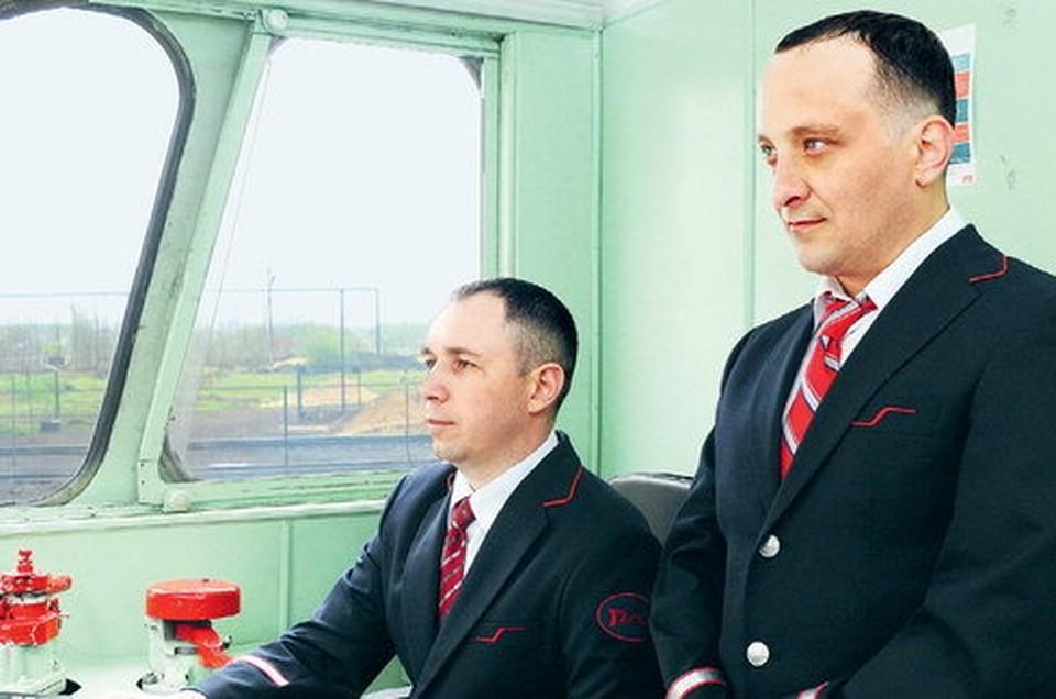 Павел Ушаков и Александр Баранов. Источник: www.pkbct.ru