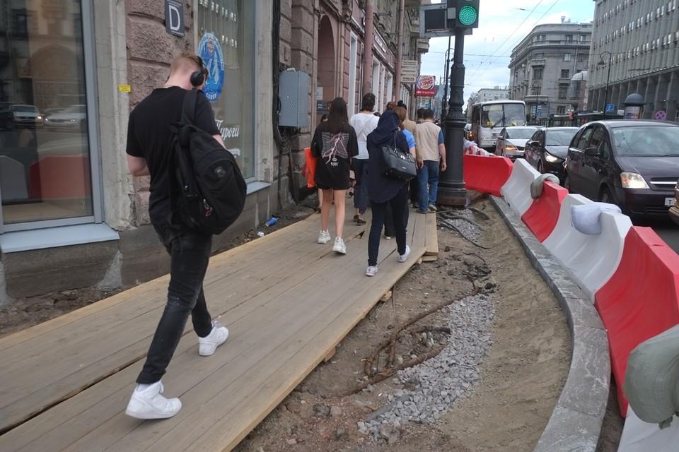 Список улиц, которые отремонтируют в Санкт-Петербурге в 2020 году.