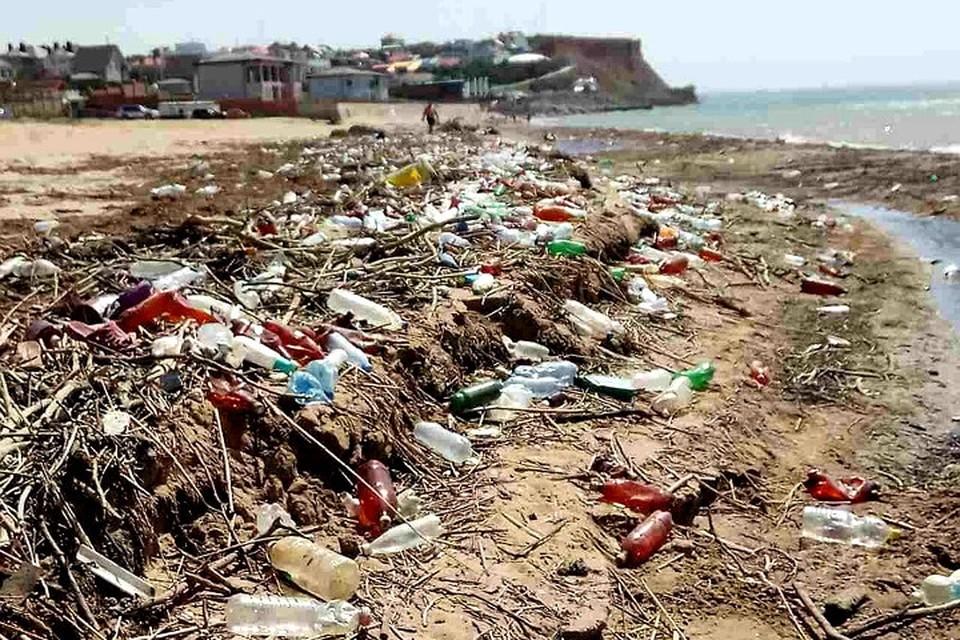 План победы над пластиком в Крыму ожидается к 1 сентября