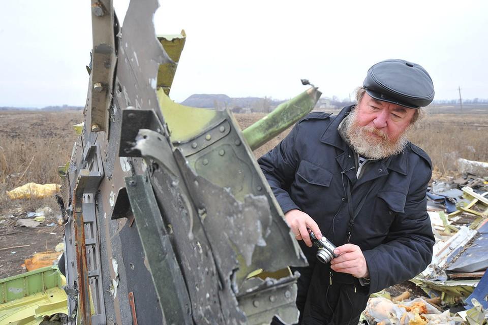 """Спецкор """"КП"""" Николай Варсегов на месте крушения рейса MH17."""