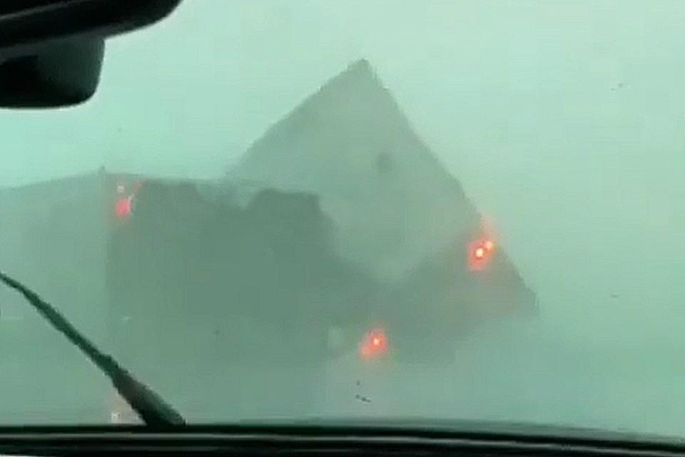 Многих стихия застала врасплох на трассе