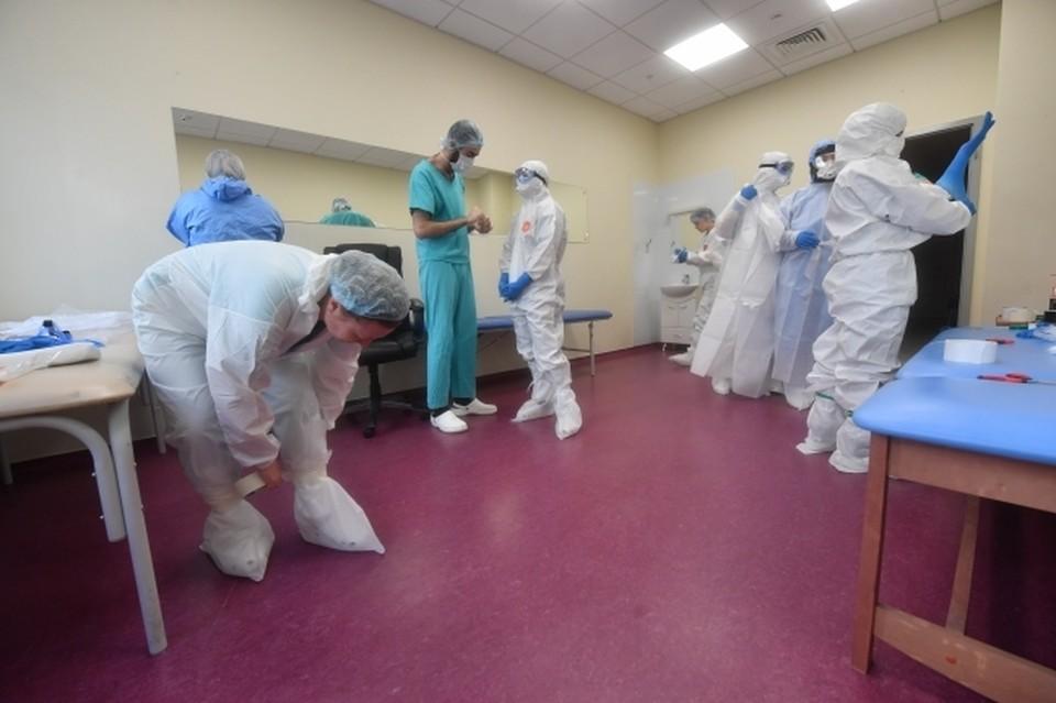 В Евпаторийской горбольнице коронавирусом заболели 34 человека