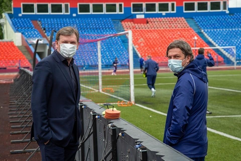 «СКА-Хабаровск» получил лицензию Российского футбольного союза на будущий сезон