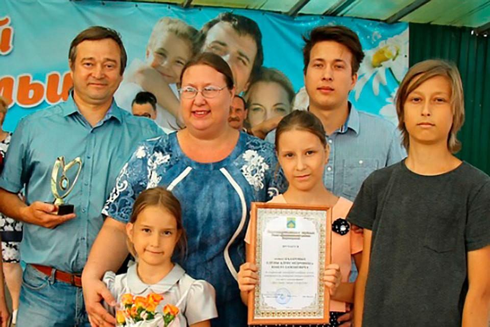 Наил Назаров — глава большой дружной семьи. Фото: АО «Самаранефтегаз»