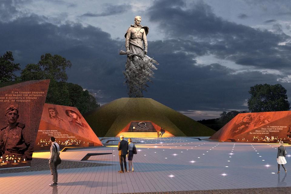 Мемориал подо Ржевом откроется уже 30 июня.